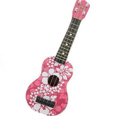 pink ukulele with flowers - Google Search
