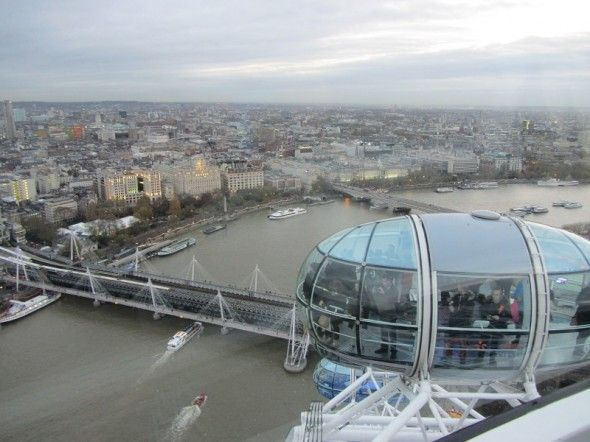 360 degrees of fun on The London Eye #London #England #LondonEye #travel #travelphotography #photography