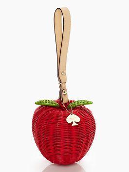 pack a picnic apple wristlet so cute