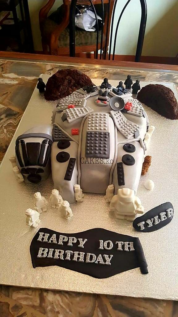 Lego Star Wars Birthday cake. Click link to my business page for more of my work.