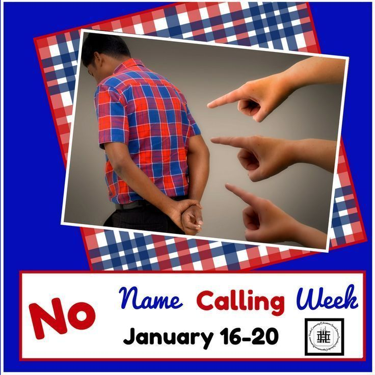 No Name Calling Week affords us the perfect opportunity to engage teens in bullying prevention activities!