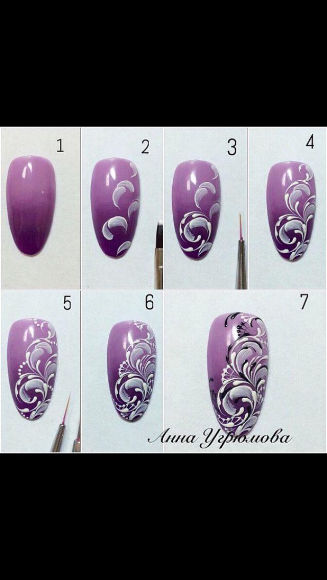 Nail art tutorial                                                                                                                                                     More