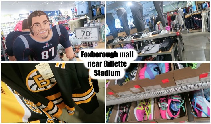 lifestyle: Patriots place -outdoor mall near Gillette Stadium...