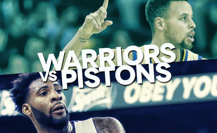 Golden State Warriors – Detroit Pistons NBA: Pronostico e streaming. Match regular season campionato americano di basket.Domenica 17-01-2016 ore 01.30
