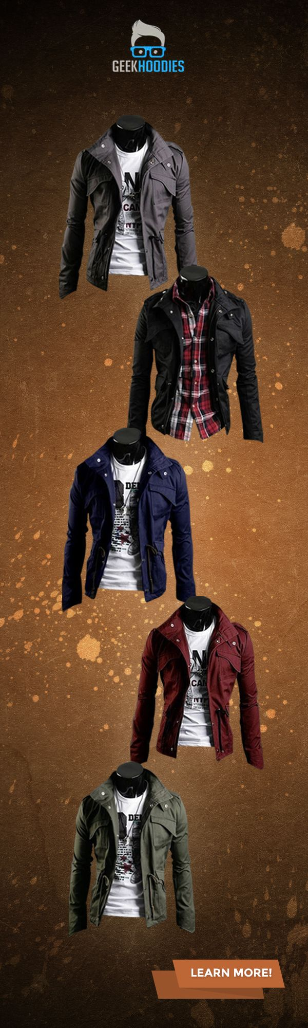 The Military Jacket #jacket #geek #fashion Visit us for more: http://geekhoodies.com/