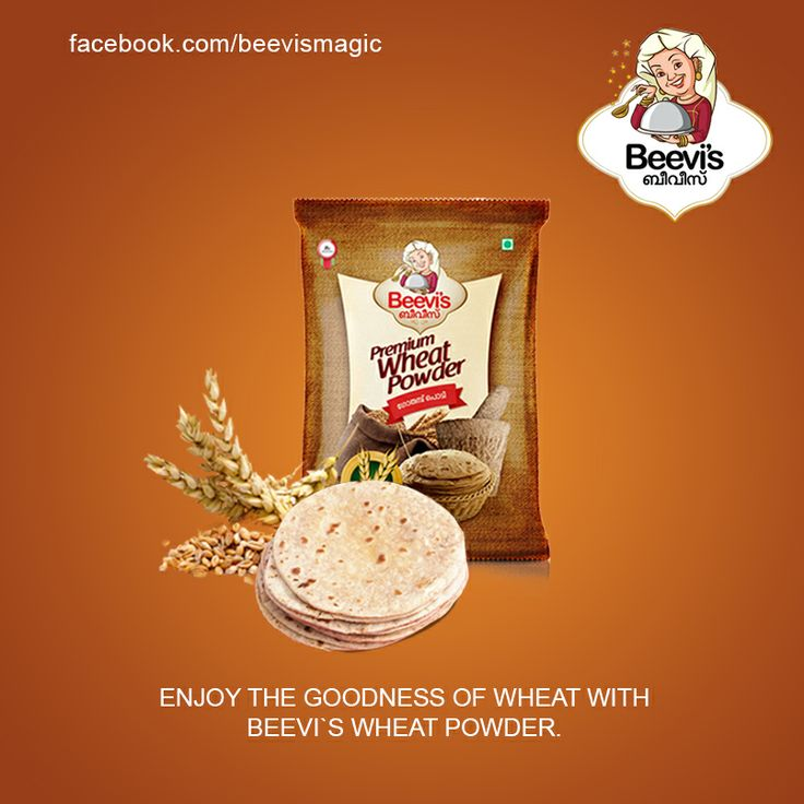 Enjoy the goodness of wheat with Beevi's Wheat Powder...