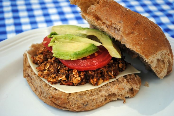 41 best images about Veggie Burgers on Pinterest | Black bean veggie ...