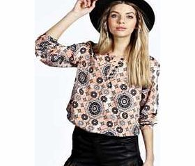 boohoo Ethnic Print Button Through Smock top - multi Make your top pop this season with sporty, baseball-style basic tees in quilted finishes with ribbed, stripe trims. Crew necks come in block colours, crop tops with mesh inserts and long sleeve jersey http://www.comparestoreprices.co.uk/womens-clothes/boohoo-ethnic-print-button-through-smock-top--multi.asp