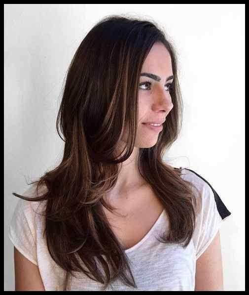 Haarschnitte Ideen Frisuren Fur Lange Glatte Haare Anthillz Net