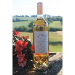 Domaine Rotier Sweet Desser White Wine, 2012. AOC Gaillac. This Domaine Rotier dessert wine has an intense nose with scents of citrus and white fruits. Sauvignon Blanc and Loin de l'oeil Stunning in aperitif, It should be served between 8 - 10°C. It will also match perfectly with foie gras and fresh fruit desserts.  Liquid Gold!! Medals & Awards: Gold Medal - Concours des vins du Sud-Ouest de Toulouse 2013.
