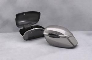 Image of Star Yamaha Accessories Hard Saddlebags - Candy Red - Yamaha Road Star 06 09 - 10 - 4WM72-00-CR