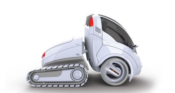 Ultra-Compact Car Share | Yanko Design