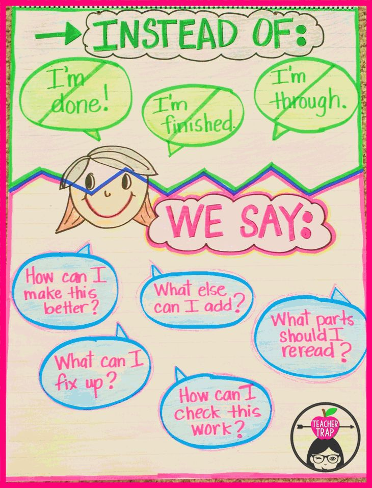 """Outlaw """"I'm Done!"""" in your classroom by guiding students toward these ways of thinking"""