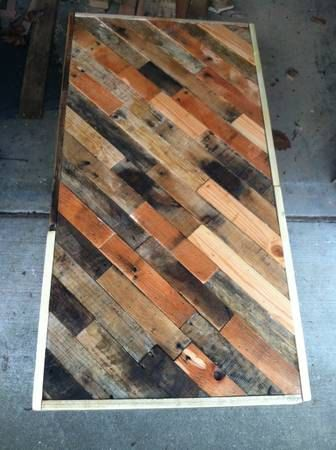 Reclaimed Wood Coffee Table by ElamFamilyDesign on Etsy, $175.00