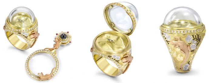 Kolekcja biżuterii od Theo Fennela do obejrzenia na naszym blogu.   #jewelery #blog #Fennell   Theo Fennell Ltd is the owner of this photo.