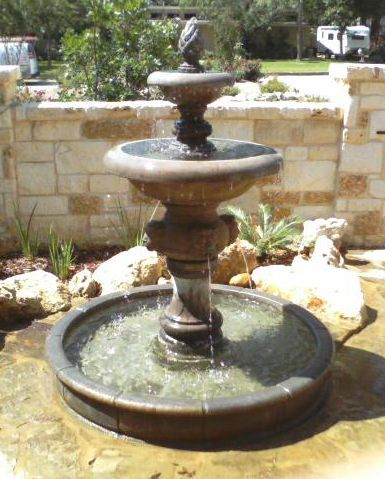 Water fountains come in many styles fountains are Outdoor water fountains