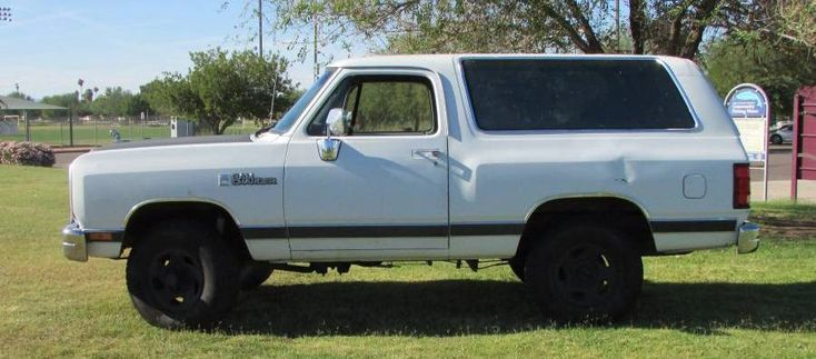 1990 4x4 318ci phoenix az dodge ramcharger power wagon