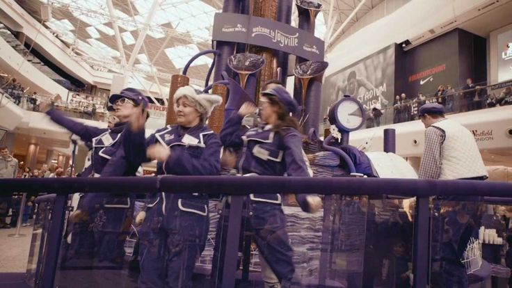 Cadbury Dairy Milk - Joyville's Magnificent Musical Chocolate Fountain