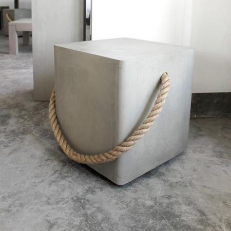 Concrete stools
