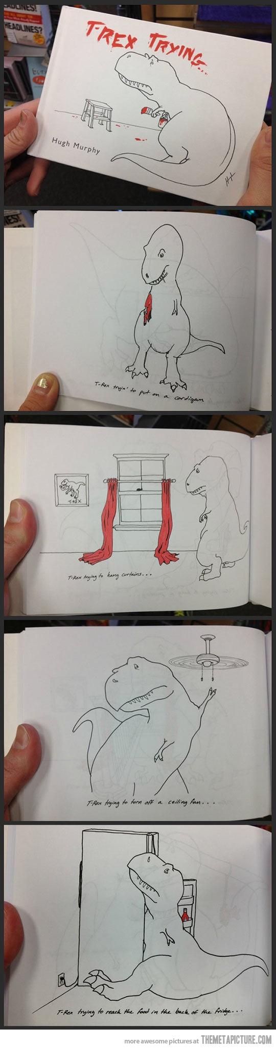 The misadventures of a T-Rex…