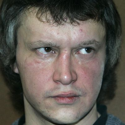 "www.en.wikipedia.org/wiki/Alexander_Pichushkin Alexander Pichushkin.Russian.Said his aim was 2 kill 64 people,the #of squares on a chessboard.He primarily targeted elderly homeless men by luring them w/vodka.After drinking w/them,he'd kill'em hitting them on the head with a hammer.He then stuck vodka bottles in their skulls 2 ensure they didnt survive.He'd always attack from behind 2 avoid spilling blood on his clothes.'For me,life without murder is like life without food""Convicted of 49…"