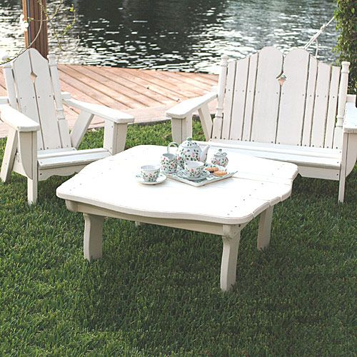 Childu0027s Outdoor Table And Chair Set