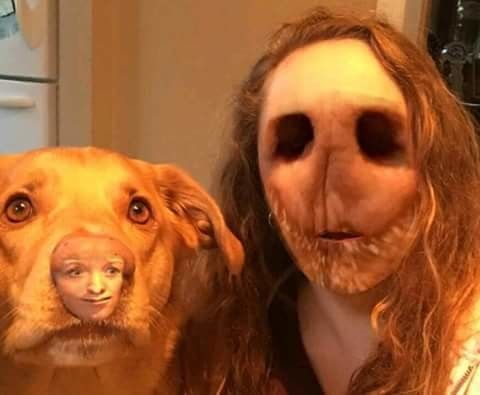 Image result for face swap gone wrong.  Well, I think we've got our new James Wan movie antagonist.  o_o