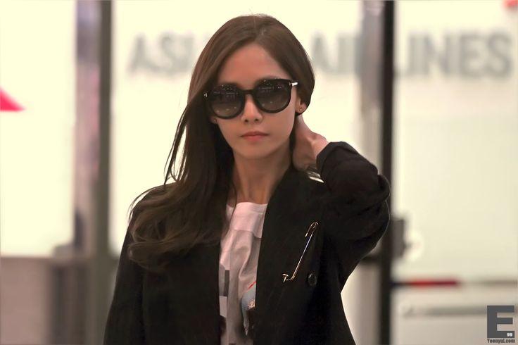 141003 yoona's airport fashion