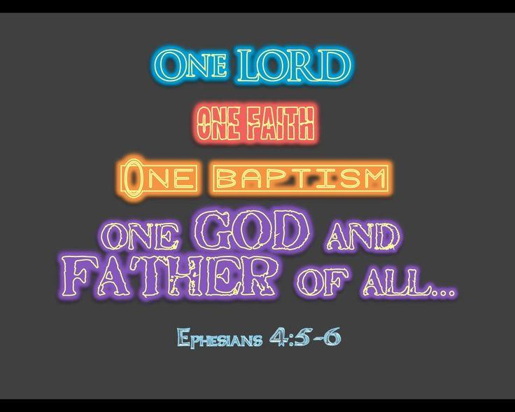 ephesians | ONE Ephesians 4:5-6_neon Wallpaper - Christian Wallpapers and ...
