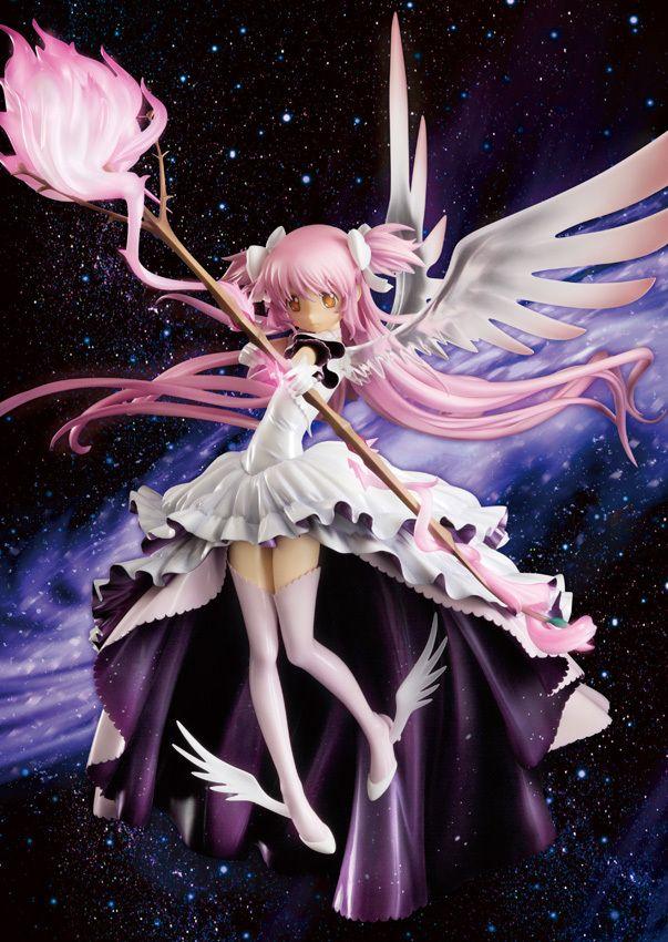 anime puella magi madoka magica kaname madoka wing dress god angel version 33cm pvc action figure doll toys puella magi madoka magica anime figures anime