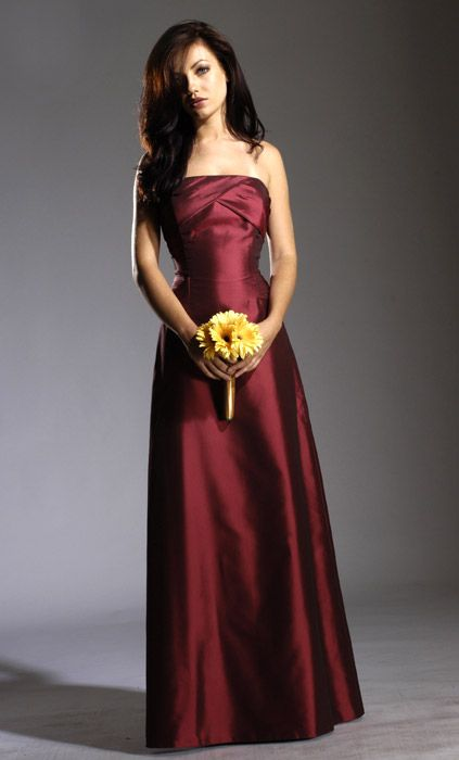 18 best images about burgundy gold bridesmaid dresses on for Burgundy and gold wedding dress