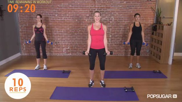 Get Madonna's Arms With This 10-Minute Workout: Weight, 10 Minute Arm, Madonna S Arms, Exercise Workout, 10 Minute Workout, Workout Arm, Workout Exercises, Workout Videos, Arm Workouts