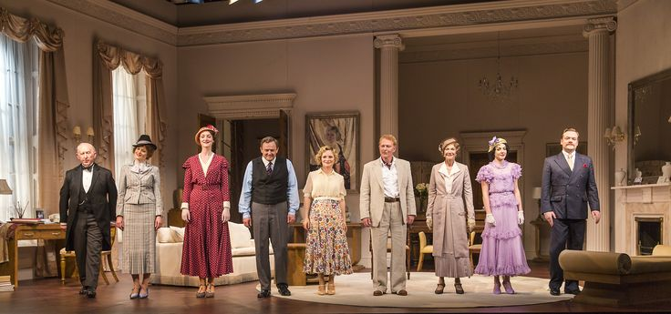 Full Cast in The Constant Wife by W. Somerset Maugham at the Gate Theatre. Photo by Pat Redmond.