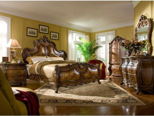 Palais Royale Panel Bedroom Furniture Set Http://www.maxfurniture.com/
