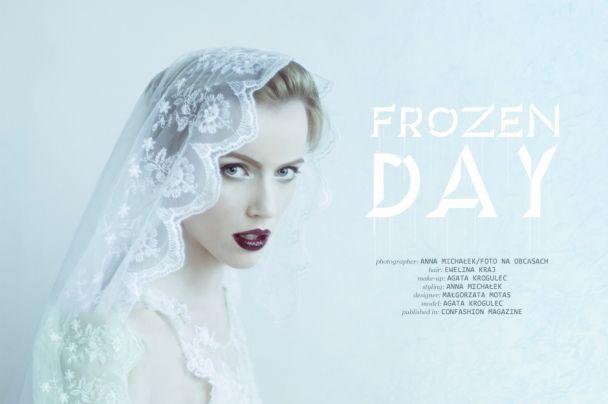 """Anna Michałek: """"Frozen day""""   http://www.confashionmag.pl/webitorial/artystyczny-czwartek-frozen-day.html"""