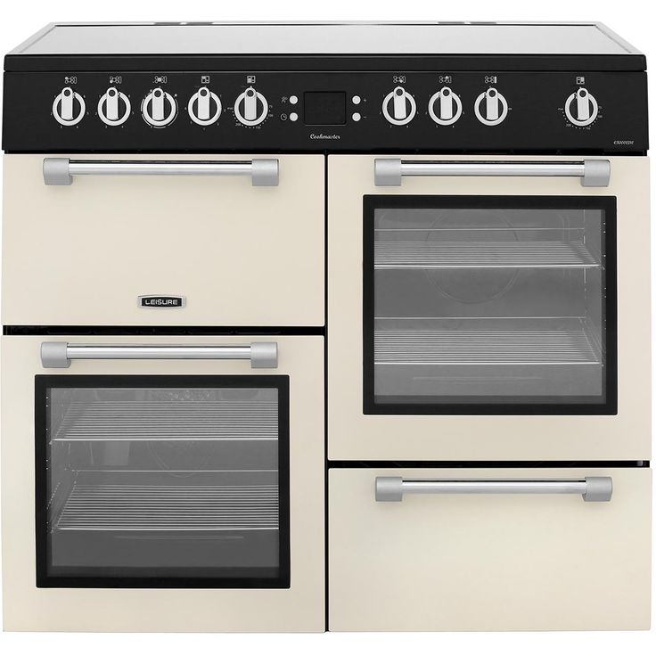 CK100C210C_CR | Leisure Electric Range Cooker | ao.com