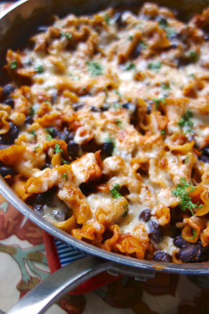 Spicy Chicken Enchilada Skillet