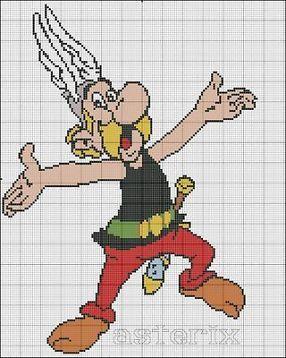 ≥ Asterix borduurpatronen kruissteek - Borduren en Borduurmachines - Marktplaats.nl