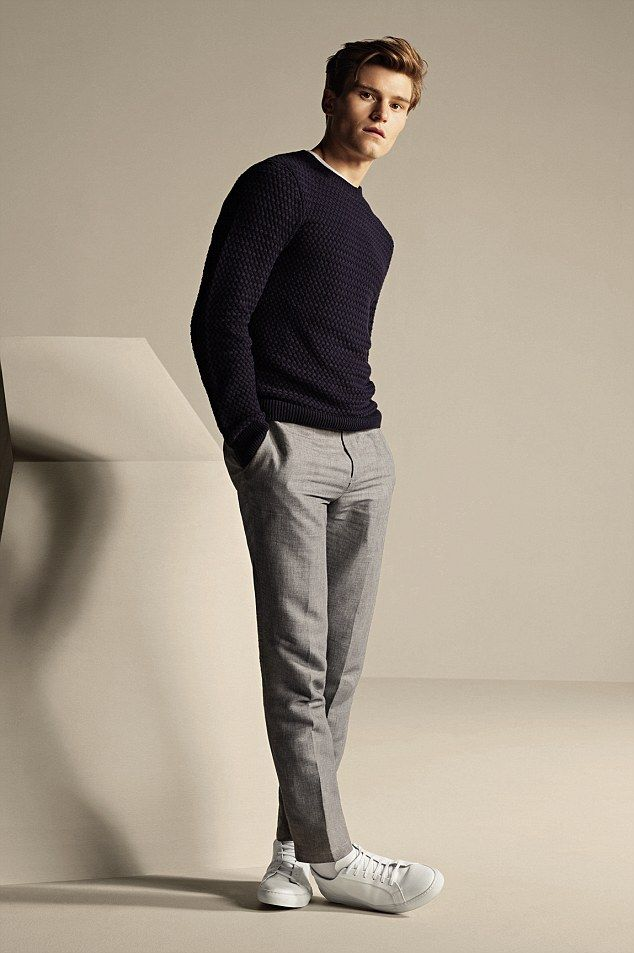 Oliver Cheshire is the new face of Marks & Spencer's Autograph A/W 2015 line | Daily Mail Online