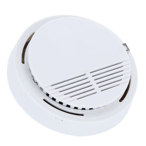 Standalone Sensor Detector de Humo Fotoeléctrico Fuego Detector de Humo Sistema de Seguridad para el Hogar Cocina