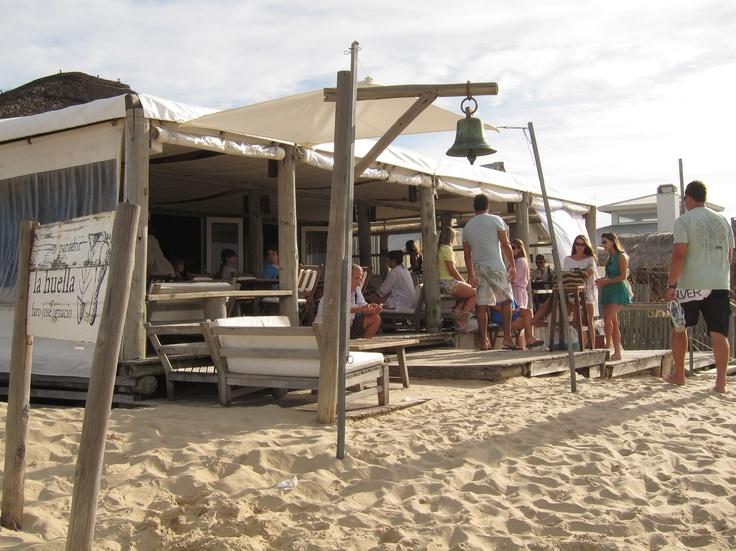 La Huella  Jose Ignacio, Uruguay. The most beautiful restaurant you will ever visit.