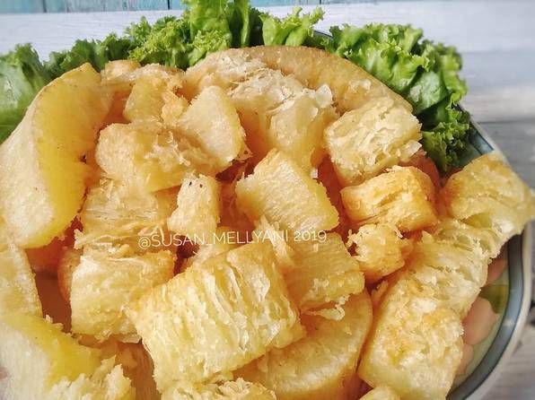 Resep Singkong Goreng Mekar Oleh Susan Mellyani Resep Resep Makanan Resep Masakan