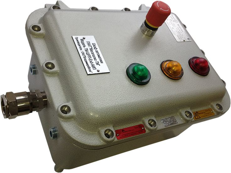 Шкаф автоматики Мегаполис-ТМ модель ТМ-ШРП-АИП-220В. Общий вид.