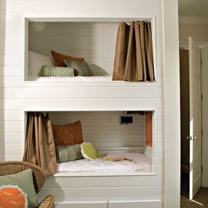 bunk bed nooks. by elinor