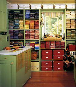Rug Hooking Room