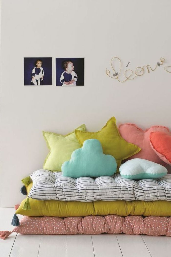 1001 Idees Pour Une Chambre Avec Lit Montessori Ambiances En 2020 Deco Chambre Enfant Chambre Enfant Matelas De Sol