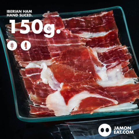 Buy Iberian Ham Hand Sliced 150g