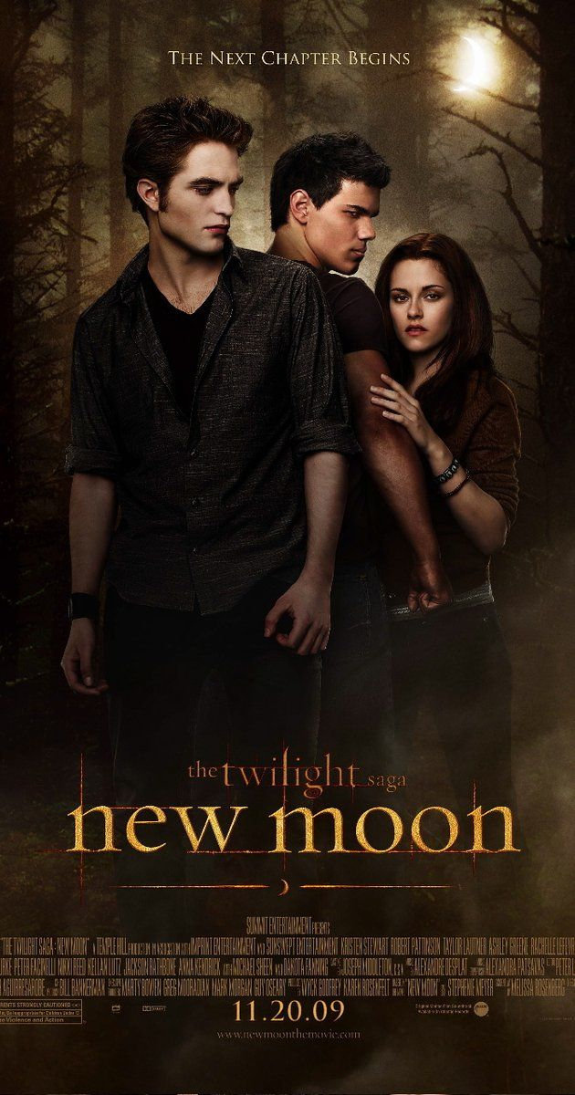 Directed by Chris Weitz.  With Kristen Stewart, Robert Pattinson, Taylor Lautner, Christina Jastrzembska. Edward leaves Bella after an attack that nearly claimed her life, and in her depression she falls into yet another paranormal relationship- this time with werewolf Jacob Black.