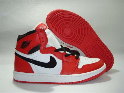 Nike Air Jordan 1 Shoes Varsity Red Black White On Sale