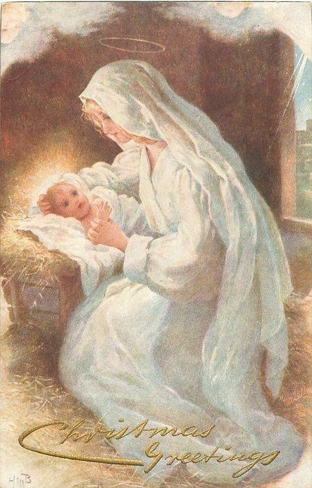 Pour la première fois tu le vois de tes yeux , l'Enfant le fruit béni ....